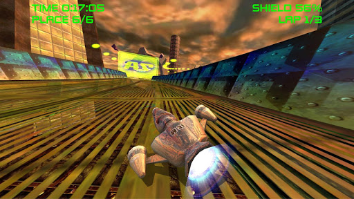 لالروبوت AceSpeeder3 ألعاب screenshot