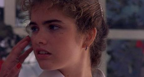 Heather Langenkamp as survivor girl Nancy Thompson, Freddy's nemesis for the next ten years.