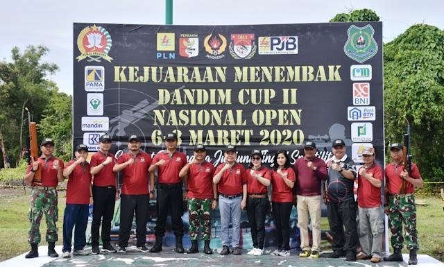 Dandim Cup II Siapkan Petembak Porprov