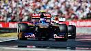Daniel Ricciardo racing his Toro Rosso STR08