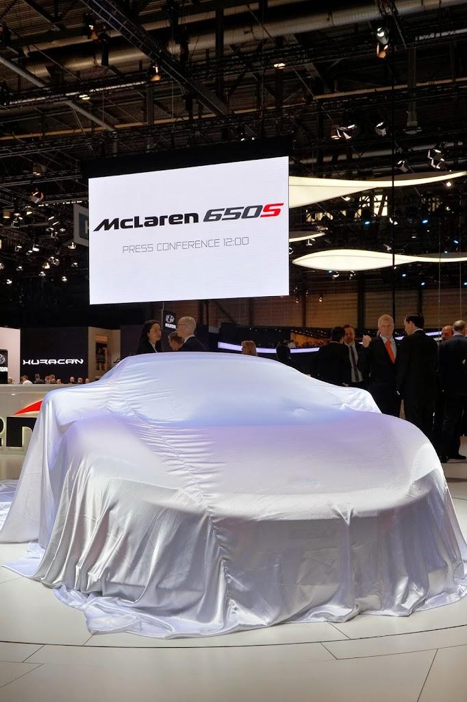 McLaren 650S Spider Geneva Motor Show 27