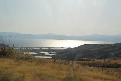 9-10/ Le lac de Tibériade au couchant.