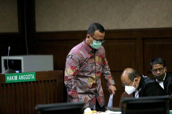 Eks Menteri KKP Edhy Prabowo Dituntut 5 Tahun Penjara