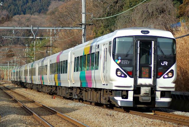 Tàu điện E257 Series Azusa