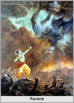 batalha entre deuses hindus