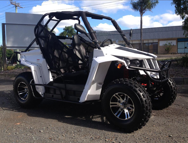 200cc Sports UTV Kids Buggy Farm Ute Side by Side Utility Vehicle