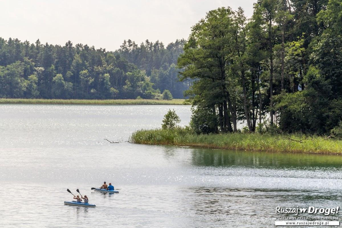 Jezioro Borzechowskie w Wirtach