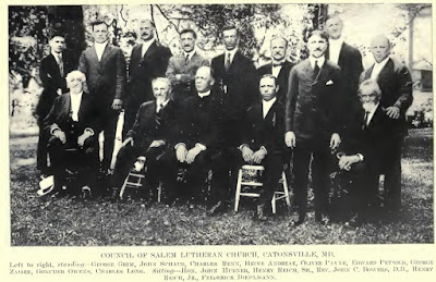 Salem Church Council