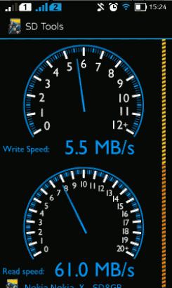 Mengetes Kecepatan / Class SD Card pada Ponsel Android