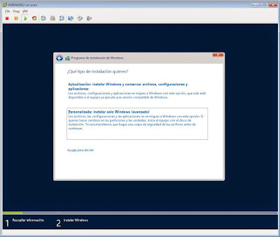 Instalar Windows Server 2012 R2 Datacenter