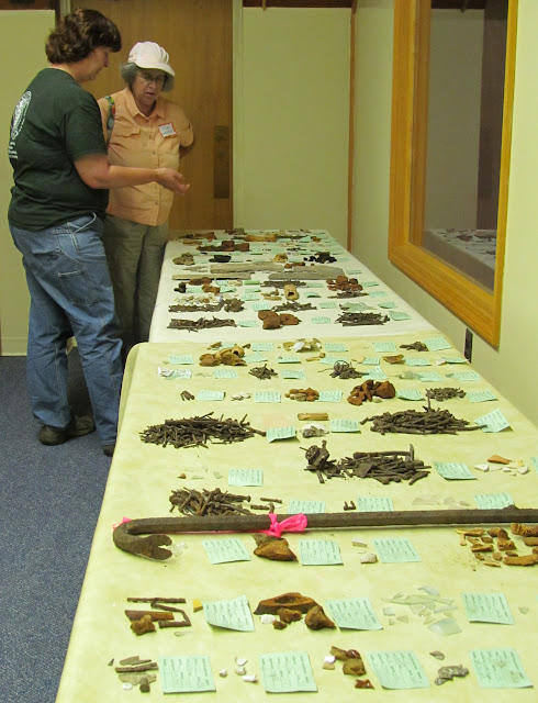 Apple Island Archaeology, early & 2014 - Dr.%2BWurst%2B%2526%2BSue%2BGrifior%2B%25281%2529.JPG