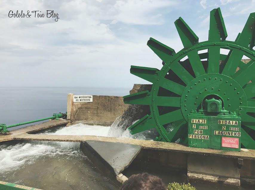 Atracción Rio Misterioso del parque de atracciones MOnte Igueldo