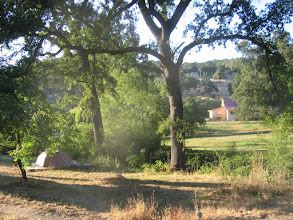 Photo: Yoga Farm, CA - view from luxury cabins