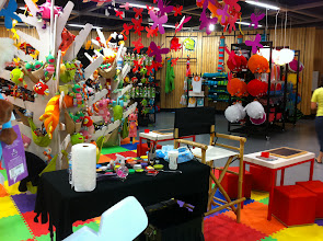 Photo: Face Painting Station Casa Ideas - Sunset Place Miami,FL. http://www.BestPartyPlanner.net
