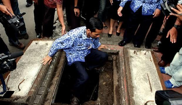 Jokowi akan Buat Terowongan Bawah Tanah dari Istiqlal ke Katedral