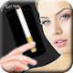 Cigarette in phone icon