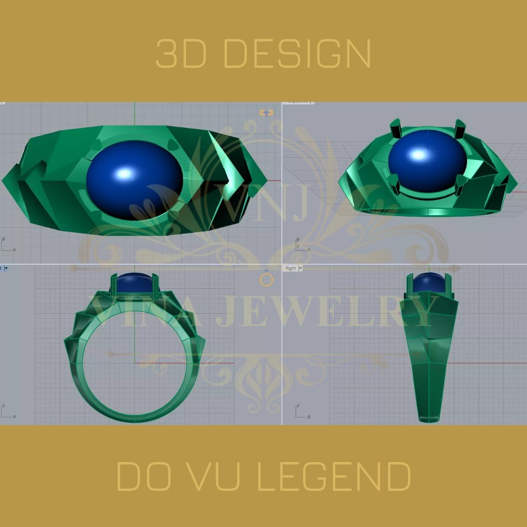 Lên thiết kế 3D duyệt mẫu lần 3, chốt ra thành phẩm