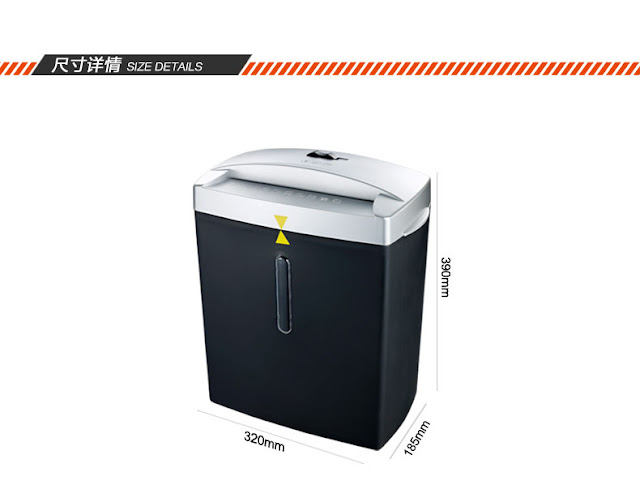 portable paper shredder machine