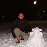 '..man sieht Schneemann bauen ist anstrengend'