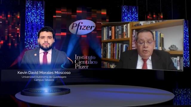 RECONOCE PFIZER EXCELENCIA ACADÉMICA DE EGRESADO DE MEDICINA DE LA UAG, CAMPUS TABASCO