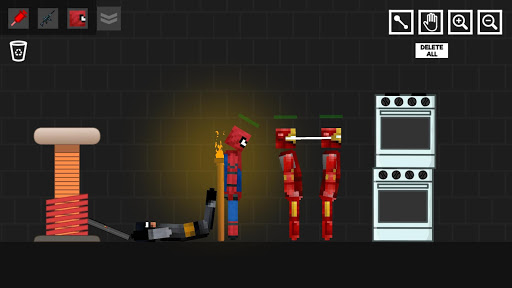 Spider Ragdoll Playground: Iron Human 1.0.5 screenshots 2