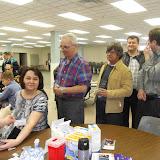 Spotkanie medyczne z Dr. Elizabeth Mikrut przy kawie i pączkach. Zdjęcia B. Kołodyński - SDC13506.JPG