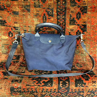Longchamp Navy Bag