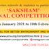 'Saksham' National Competition 2021 - Painting Contest
