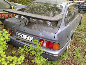 Abandoned Ford Sierra RS