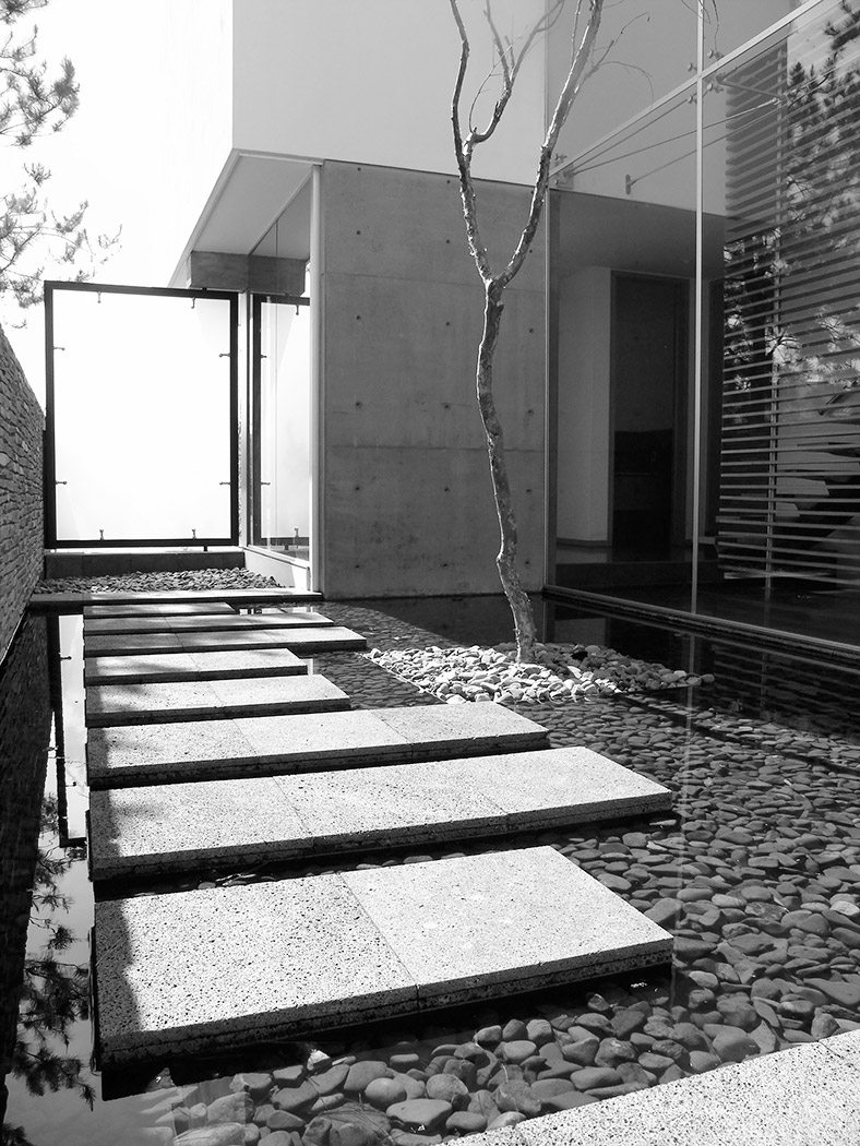 Diseo De Patios Amazing Patio Moderno Con Huerta Vertical