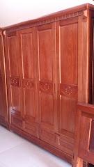 Tủ quần áo gỗ MS-175 (Còn hàng)