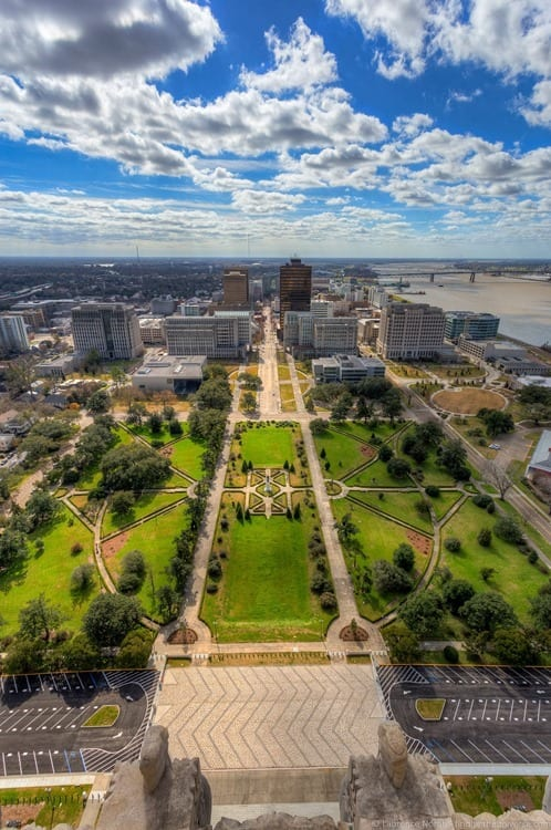 State Capitol Building Baton Rouge Louisiana