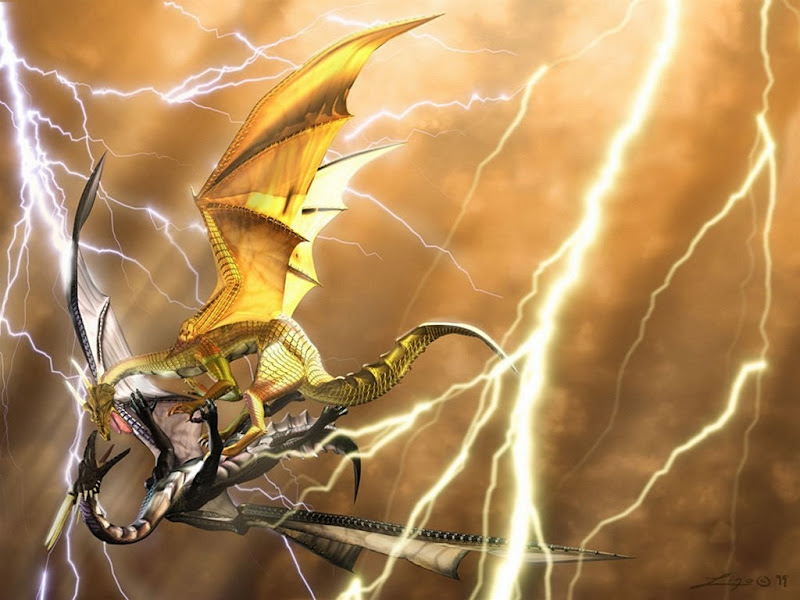 Lightning Dragon, Dragons