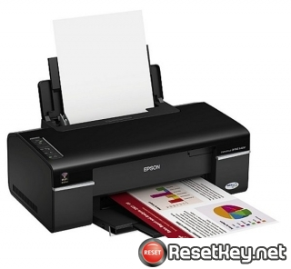 Reset Epson B40W Waste Ink Counter overflow error