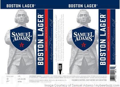 Samuel Adams Independent Craft Seal Cans
