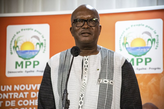 Burkina Faso's President Roch Marc Christian Kabore Re-elected