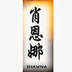 shawna - tattoo designs