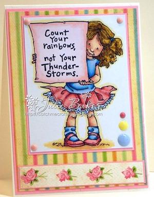 Julie - rainbow or rainbow colours