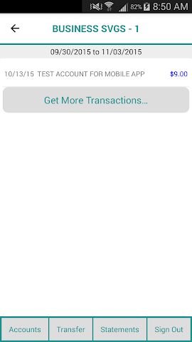 android Greater Eastern Mobile Banking Screenshot 2