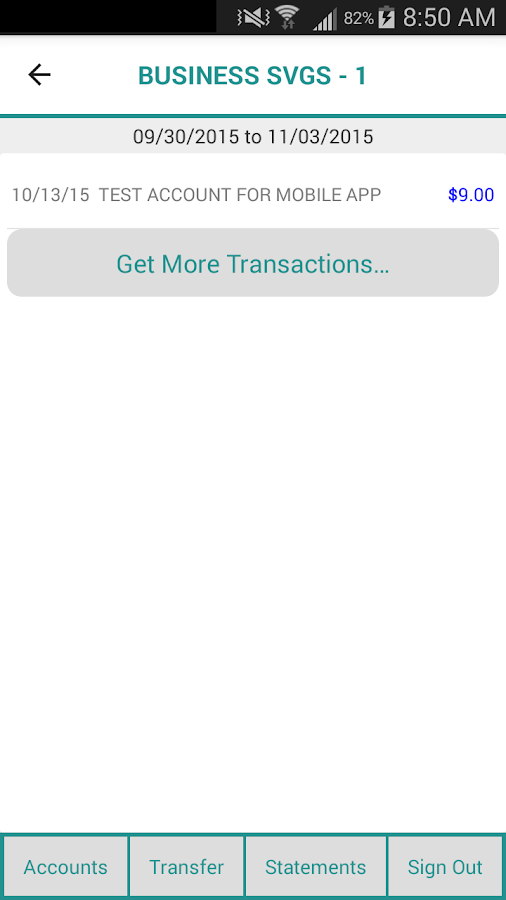 Greater Eastern Mobile Banking- screenshot