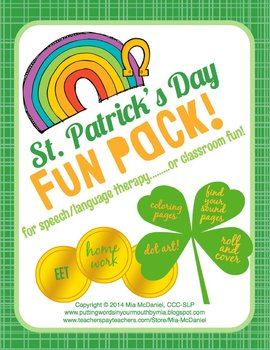St. Patrick's Day Fun Pack Image