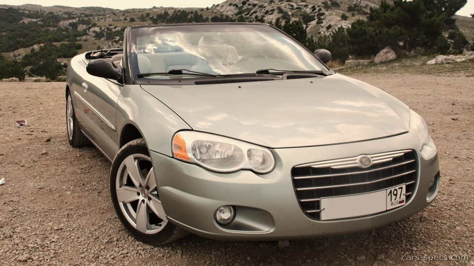 2006 chrysler sebring convertible specifications pictures. Black Bedroom Furniture Sets. Home Design Ideas