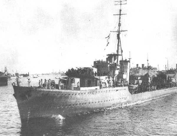 Nizams warship