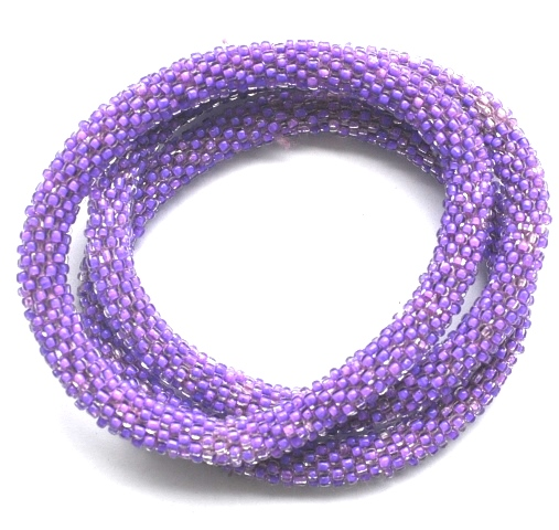 Rollover Bead Bracelets Solid