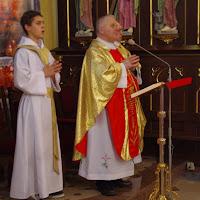 25.11.2012 Obrzęd  przyjęcia ministrantów
