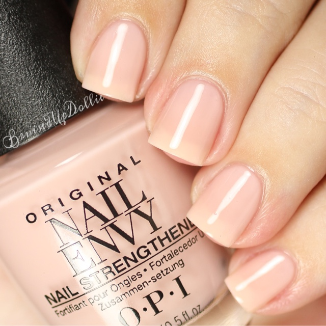 Opi Nail Envy Strength + Color - BruisedUpDollie Nails