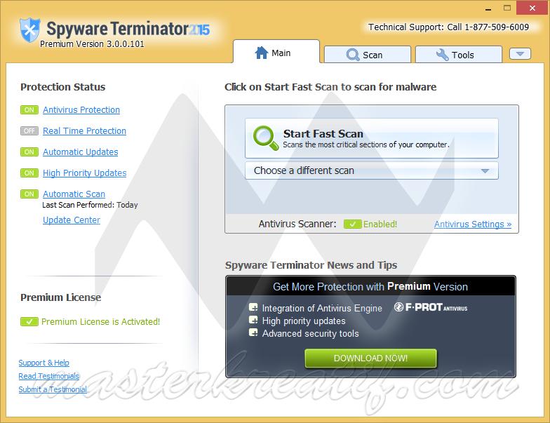 Spyware Terminator Premium 2015