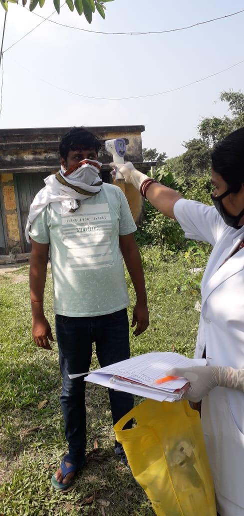 सुपौल:होम आइसोलेशन के मरीजों की होती है नियमित जांच