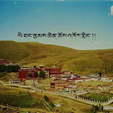 Massive religious gathering and enthronement of Dalai Lama's portrait in Lithang, Tibet. - LITHANG.JPG