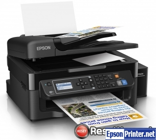 How to reset Epson L565 printer
